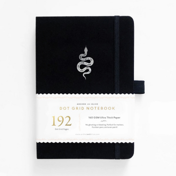 A5 192 pages (white)