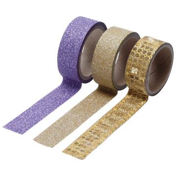 Glitter tapes