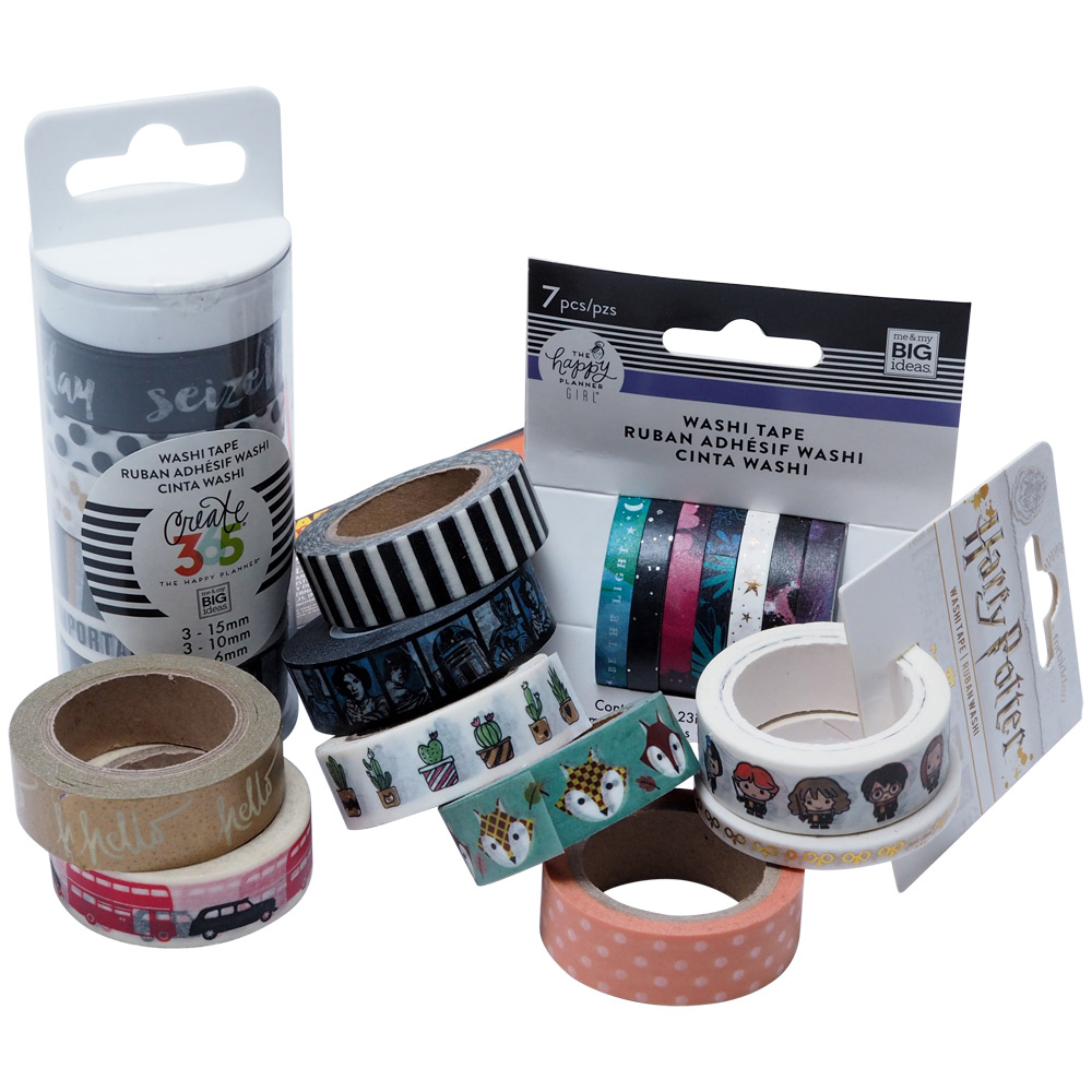 Other washi and paper tapes